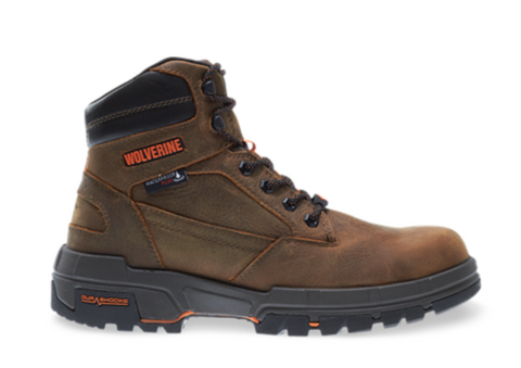 "Wolverine LEGEND LX DURASHOCKS WATERPROOF CARBONMAX 6"" BOOT"