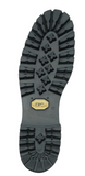 "LaCrosse Meta Pac 16"" Black Metatarsal Guard / Steel Toe sole view"