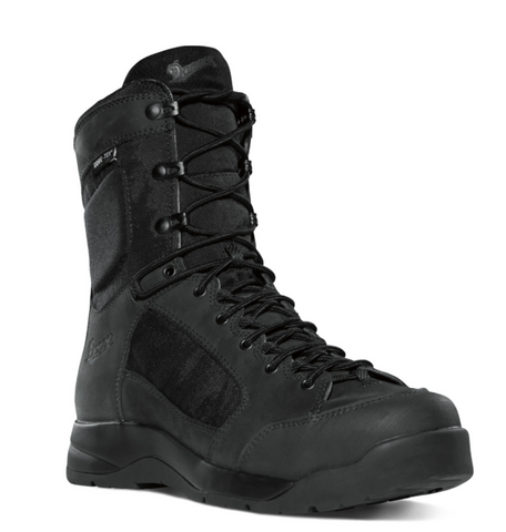 Danner fight assault DFA all black Boots with black laces
