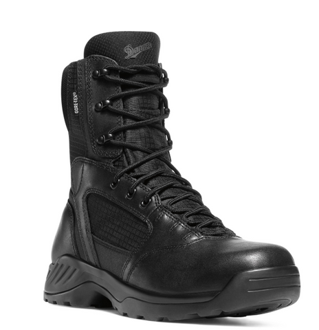 "Danner Kinetic 8"" Side Zip black Boots"