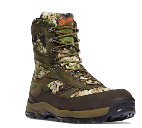 "Danner HIGH GROUND 8"" OPTIFADE SUBALPINE camo boots"