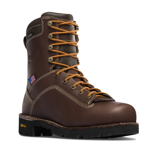 Danner QUARRY USA BROWN ALLOY TOE Boots