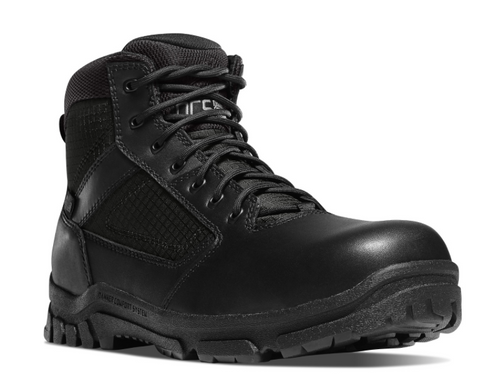 Danner LOOKOUT SIDE-ZIP 5.5 inch NON-METALLIC TOE all black Boots