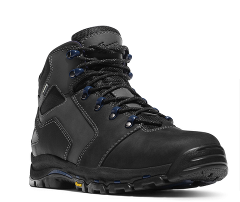 "Danner VICIOUS 4.5"" Black Boots Plain Toe EH Rated"