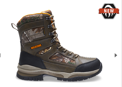 Wolverine ROCKET WATERPROOF Camo Boots