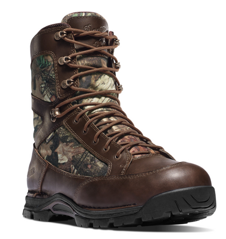Dana PRONGHORN 8 inch MOSSY OAK BREAK-UP INFINITY INSULATED 400 grams brown with brown laces and areas of camouflage material on sides and tongue men's boots