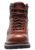 Wolverine NEILSON WATERPROOF Dark Brown Boots brown laces 6 inches heigh