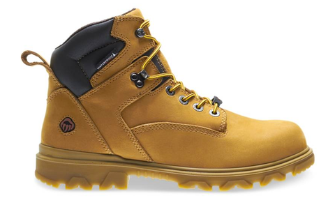 Wolverine I-90 EPX CARBONMAX Boots light brown 6 inches heigh light brown laces match wheat color boots darker brown around ankle