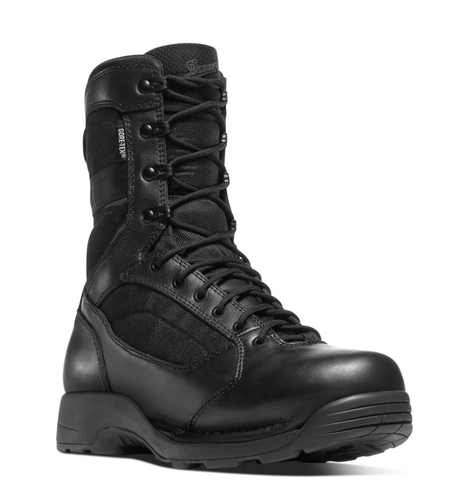 Danner STRIKER TORRENT 8 inch INSULATED 400 grams all Black Boots with black laces