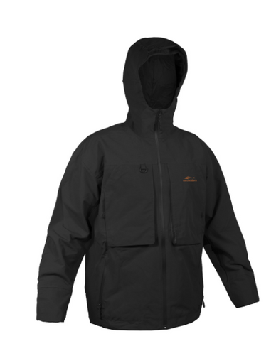 Grundens storm rider hooded jacket color black