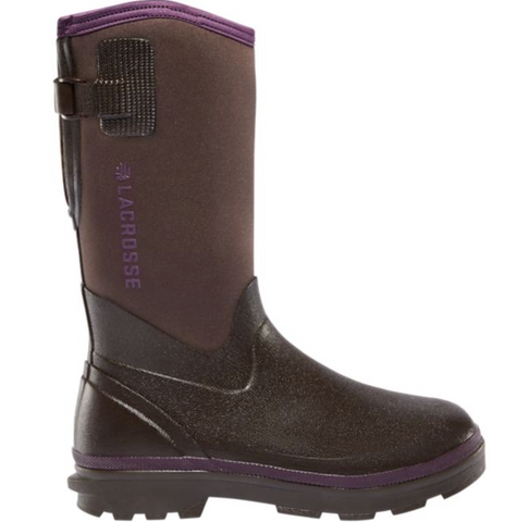LACROSSE WOMEN'S ALPHA RANGE BOOTS Chocolate & Plum