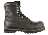 Chinook Black Waterproof Steel Toe Tarantula Boots