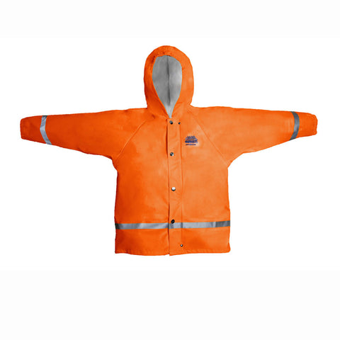 Grundens Zenith 293 Hooded Parka Juniors 3 Colors Orange-Yellow-Blue