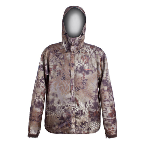 Grundens Gage Weather Watch Hooded Jacket Camo
