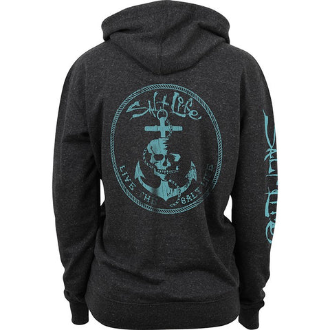 Salt Life Ladies Anchor Life Hoodie