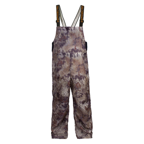 Grundens camo bib pants gage weather watch