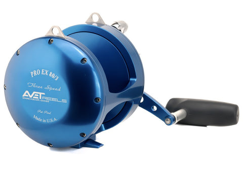 Avet EX 80/3 Lever Drag 3-Speed Stand-Up Reel