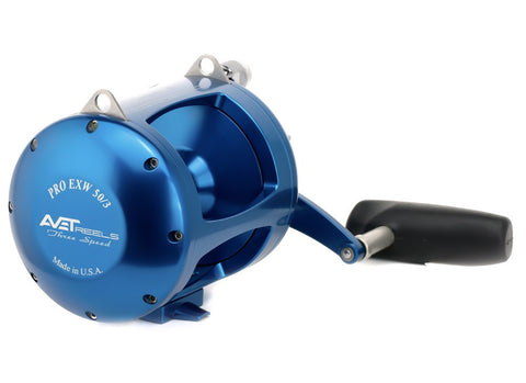 Avet EXW 50/3 Lever Drag 3-Speed Stand-Up Reel