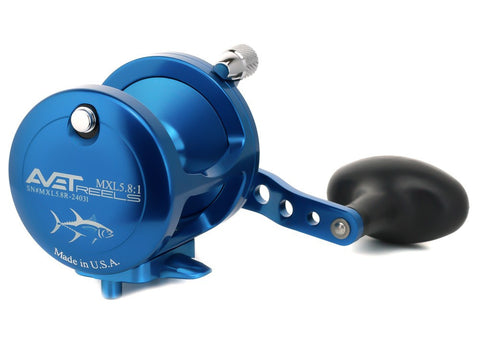 Avet MXL 6/4 Lever Drag 2-Speed Stand-Up Reel