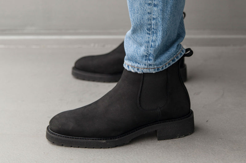 Winter Chelsea Boots - Black