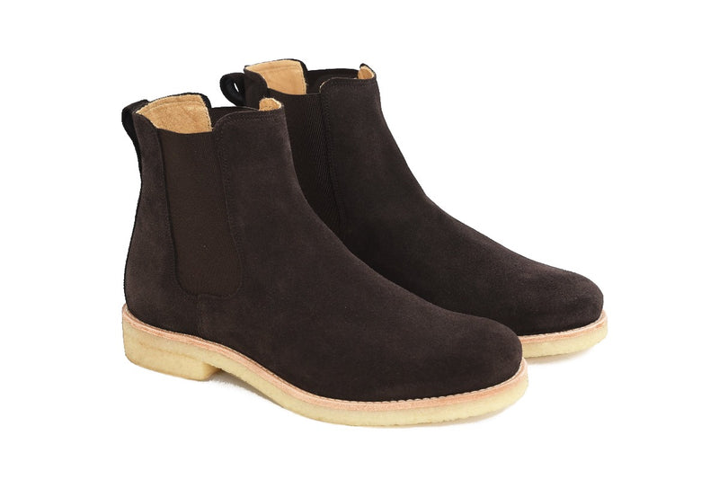 Chelsea Boots - Chocolate - Lordya