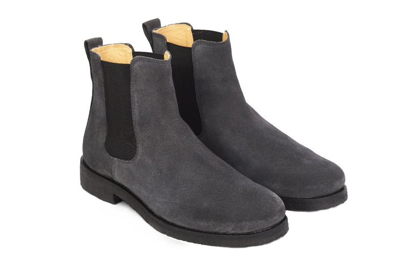 Chelsea Boots - Washed Black - Lordya