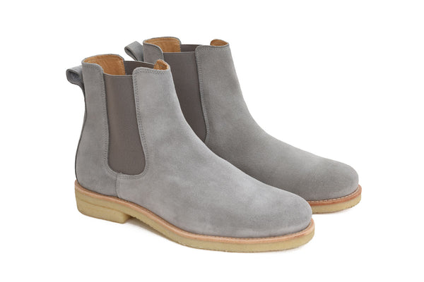 Chelsea Boots - Light Grey