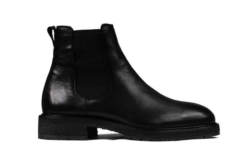 Lordya - Winter Chelsea Boots Black Leather