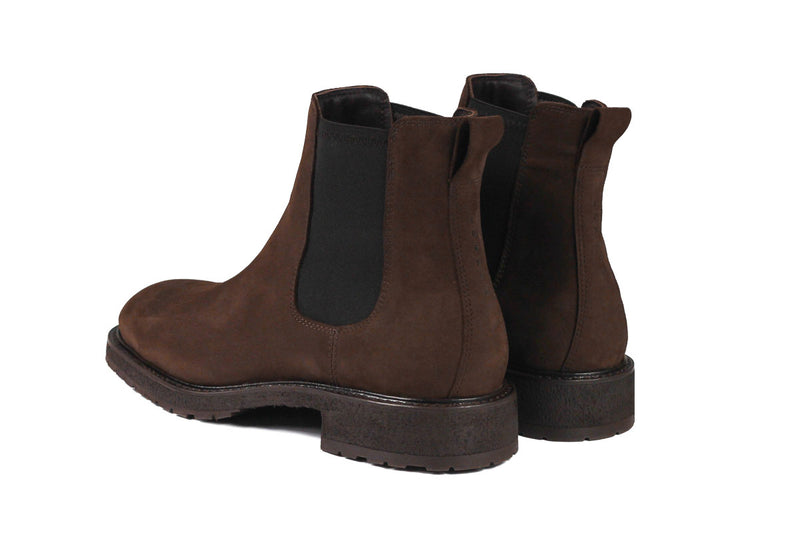Winter Chelsea Boots - Chocolate