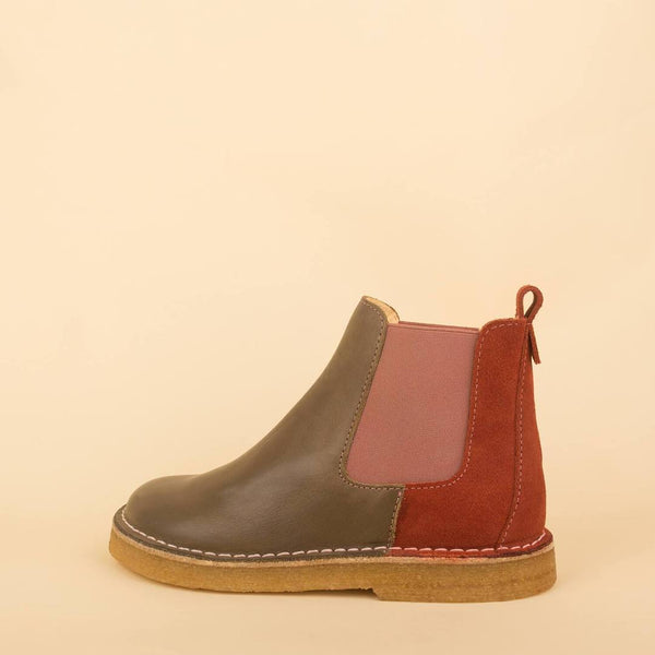 dulis chelsea boot olive