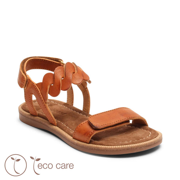 bisgaard sandal catia cognac - little pearls by shoe chou