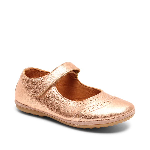 bisgaard ballerines ria rose gold