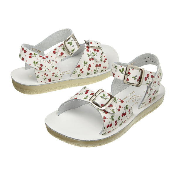 saltwater sandals surfer cherry - little pearls by shoe chou