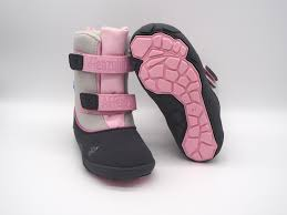 affenzahn winter boot vegan koala pink grey