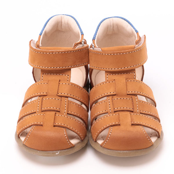 emel beginner sandal camel - little pearls by shoe chou