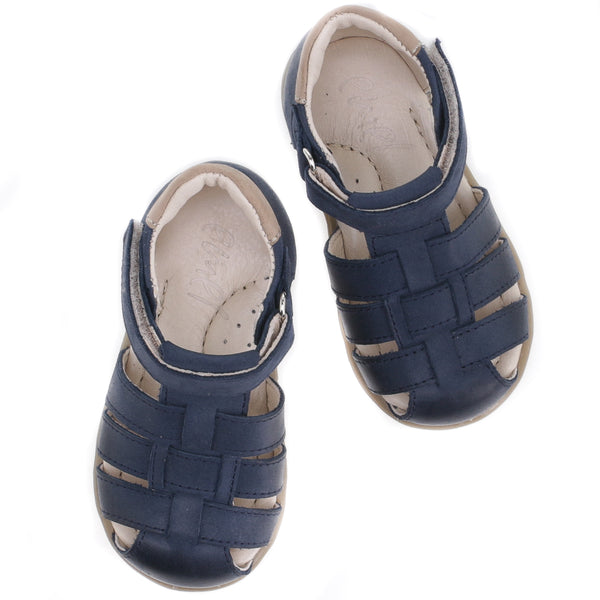 emel beginner sandal navy - little pearls by shoe chou