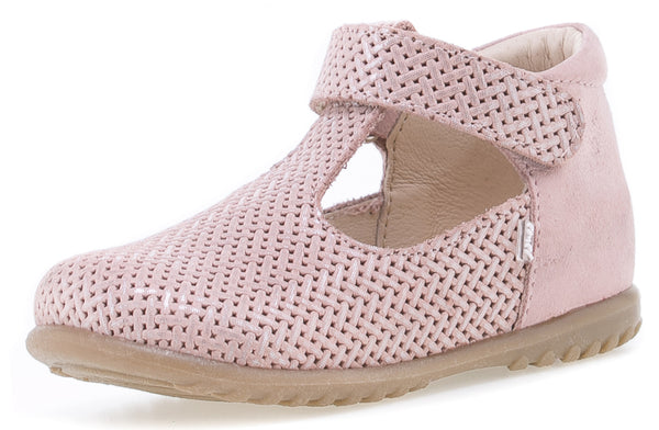 emel beginner ballerine light rose - little pearls by shoe chou