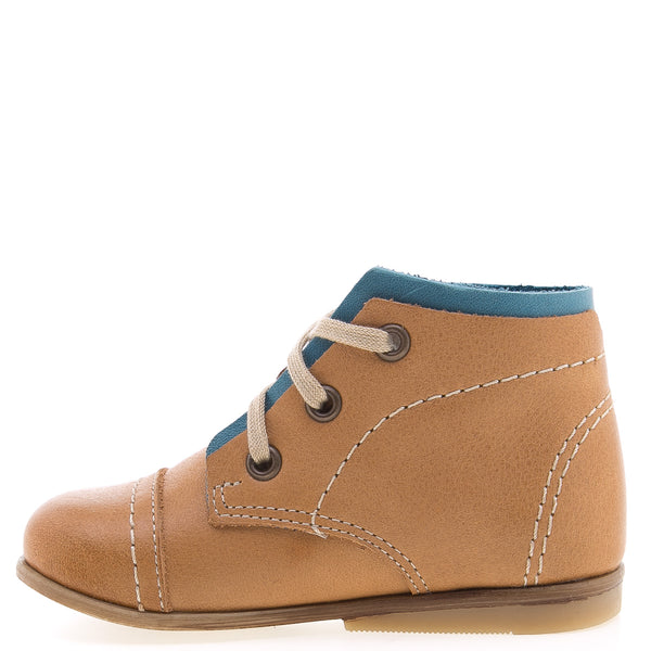 emel beginner camel/turquoise - little pearls by shoe chou