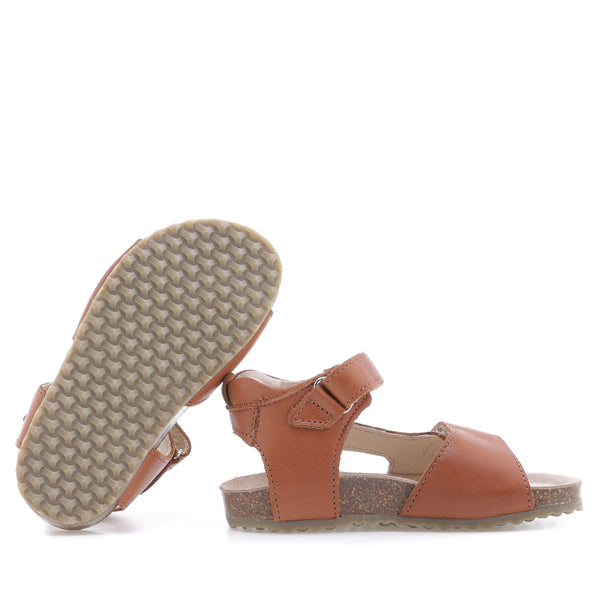 emel sandal brown - little pearls by shoe chou