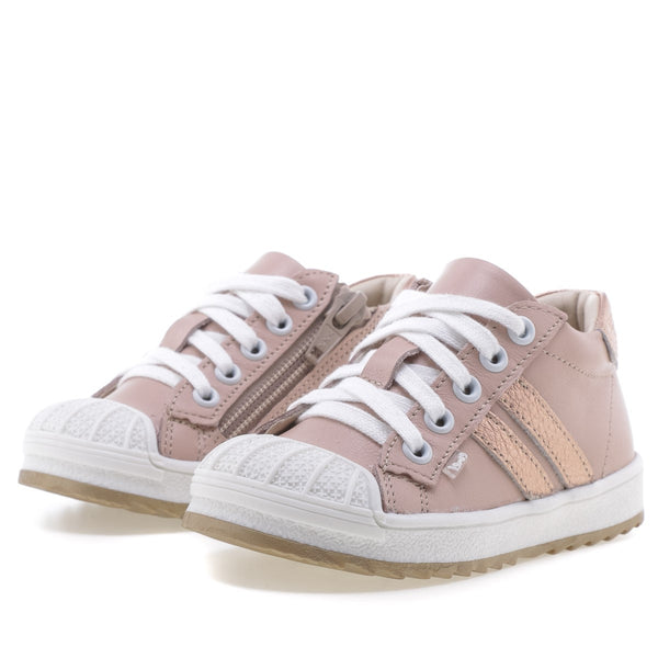emel sneaker kid nude/rosegold - little pearls by shoe chou