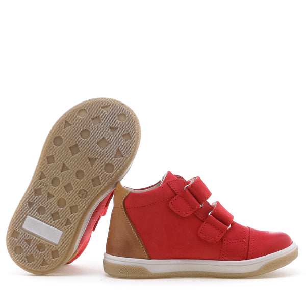 emel beginner red/mustard - little pearls by shoe chou