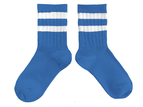 collégien tennis socks cobalt blue