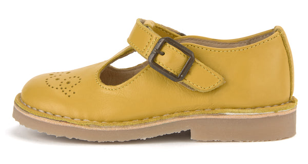 young soles kids penny yellow - little pearls by shoe chou