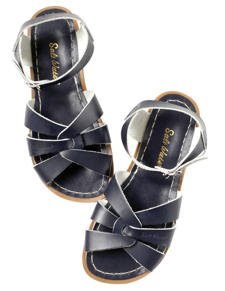 saltwater sandals original child navy - little pearls by shoe chou