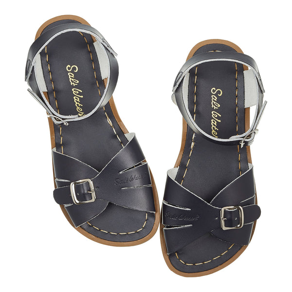 saltwater sandals classic child navy - little pearls by shoe chou