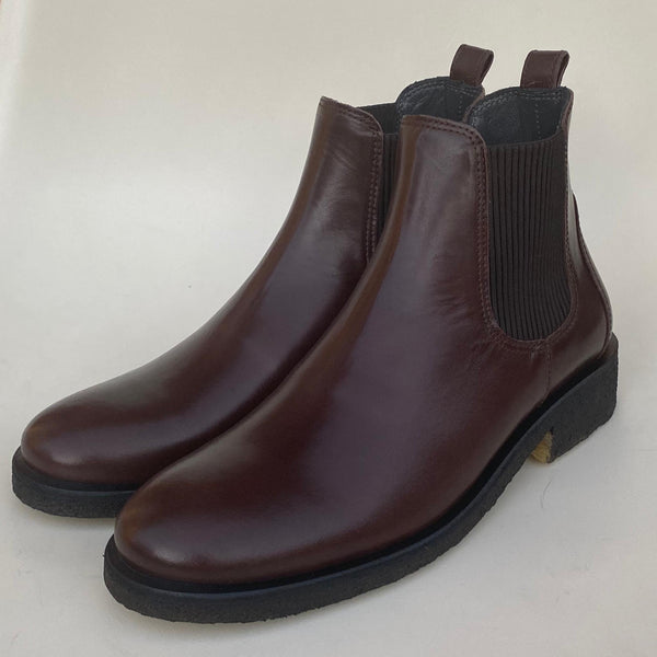 angulus chelsea boot dark brown