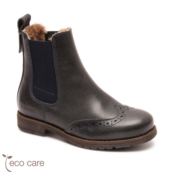 bisgaard winter boot mai navy