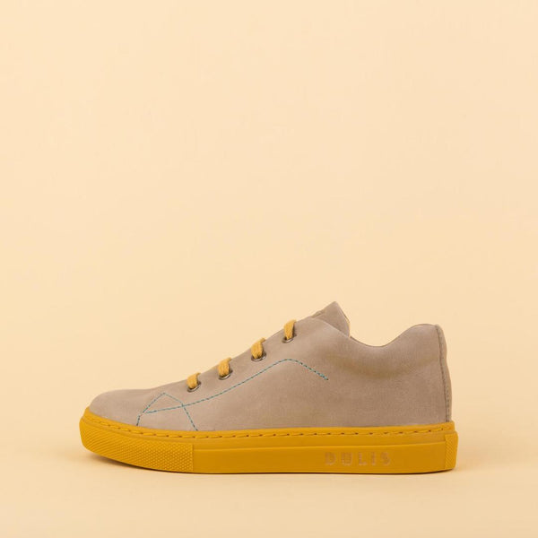 dulis sneaker light grey - little pearls by shoe chou