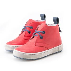 emel beginner laced sneaker red