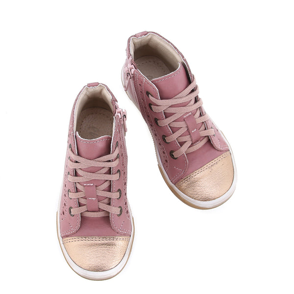 emel sneaker rose and gold